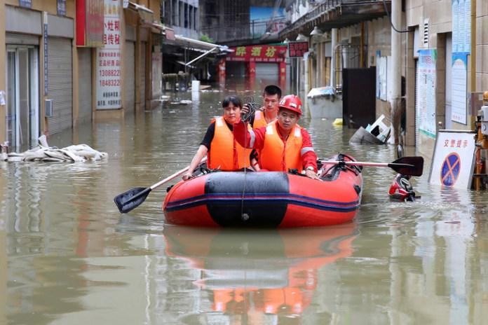 Inondations en Chine: plus de 40 millions de personnes affectées