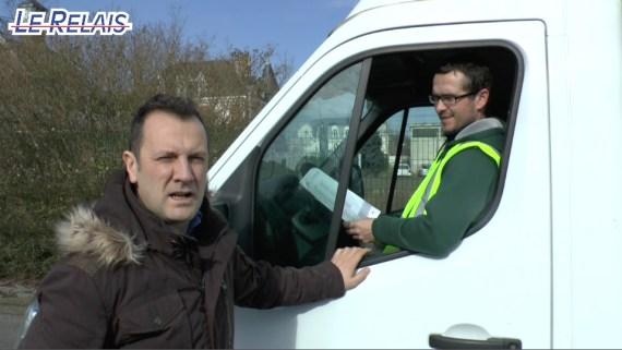 Le Relais Soissons : pose conteneurs Chauny Tergnier