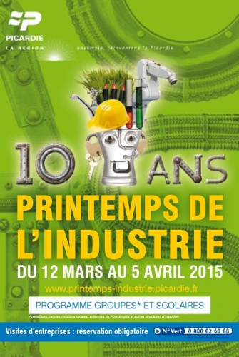 Le Relais Soissons : Printemps de l'industrie picardie