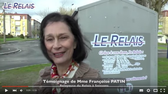 Le Relais Soissons : Françoise PATIN, Relayeuse
