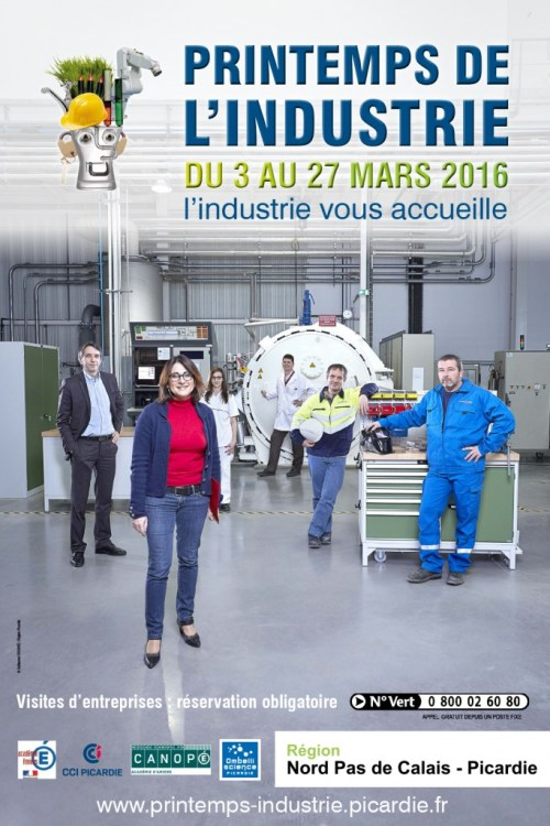 Le Relais Soissons : Printemps de l'Industrie 2016