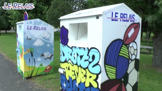 Le Relais Soissons : conteneurs customisés