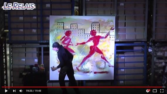 Le Relais du Plateau 2017 : IBARA, peintre dessinateur