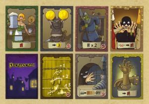 Les cartes pouvoirs.