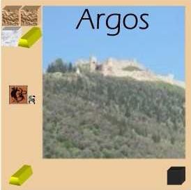 Tuile de la ville d'Argos
