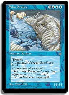 Ah les Krakens... on les trouve dans plein de jeux.