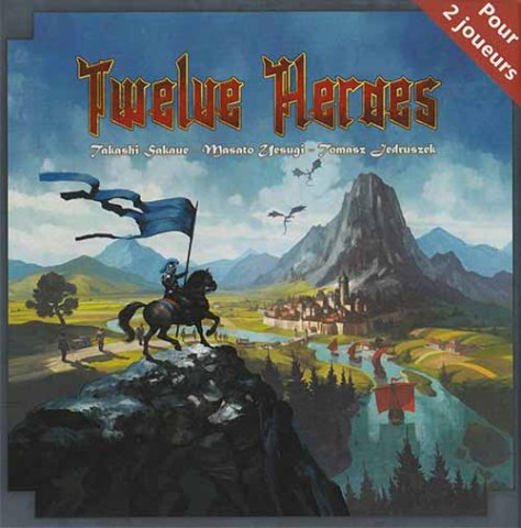 La boite de Twelve Heroes