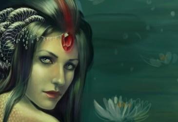 La vouivre ou l'expression de la femme dragon parmi les êtres de la nature