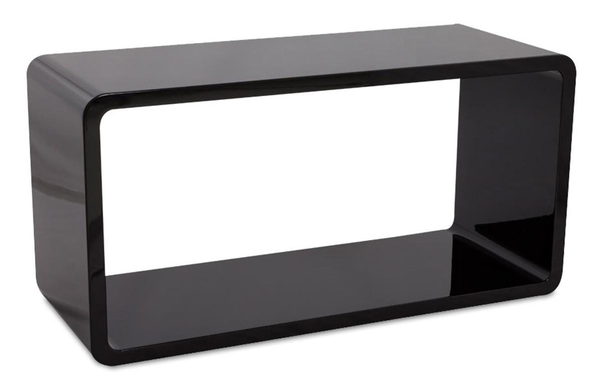 cube de rangement noir