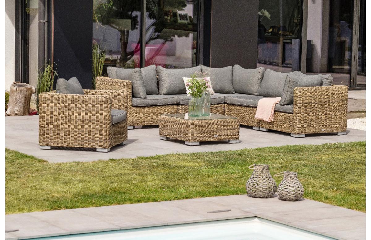 salon de jardin design bas en resine tressee paris garden 6 places montmartre