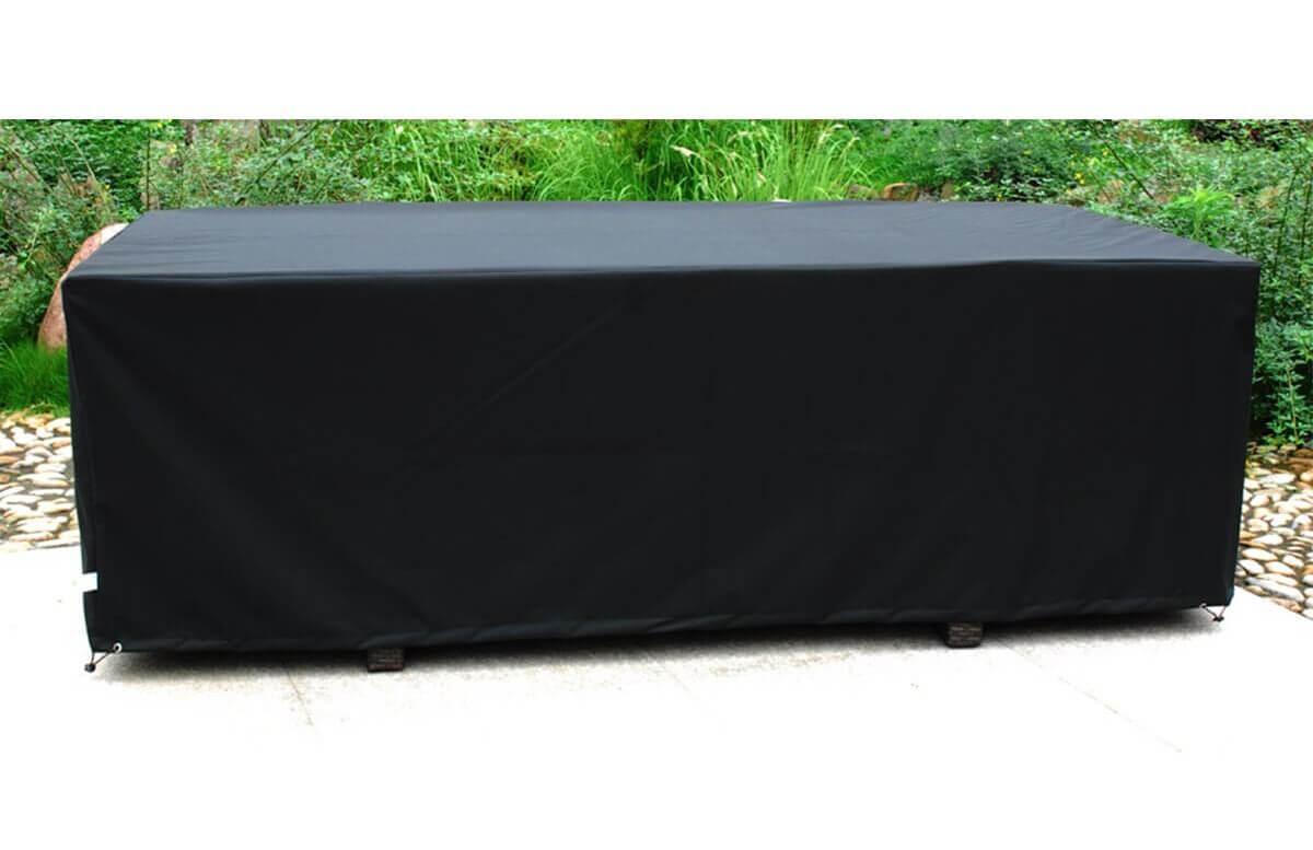 housse de protection table de jardin 8 personnes 210x105 dcb garden