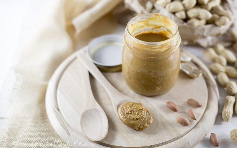 Burro di arachidi naturale fatto in casa