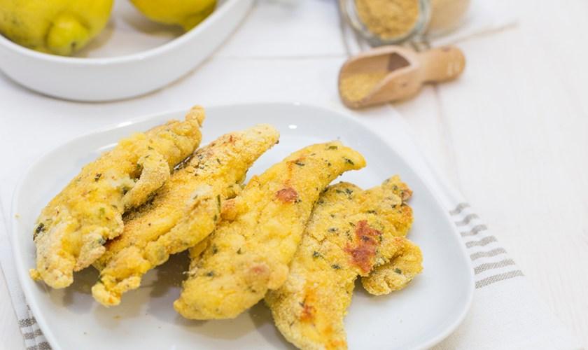Filetti di pollo alla senape e limone
