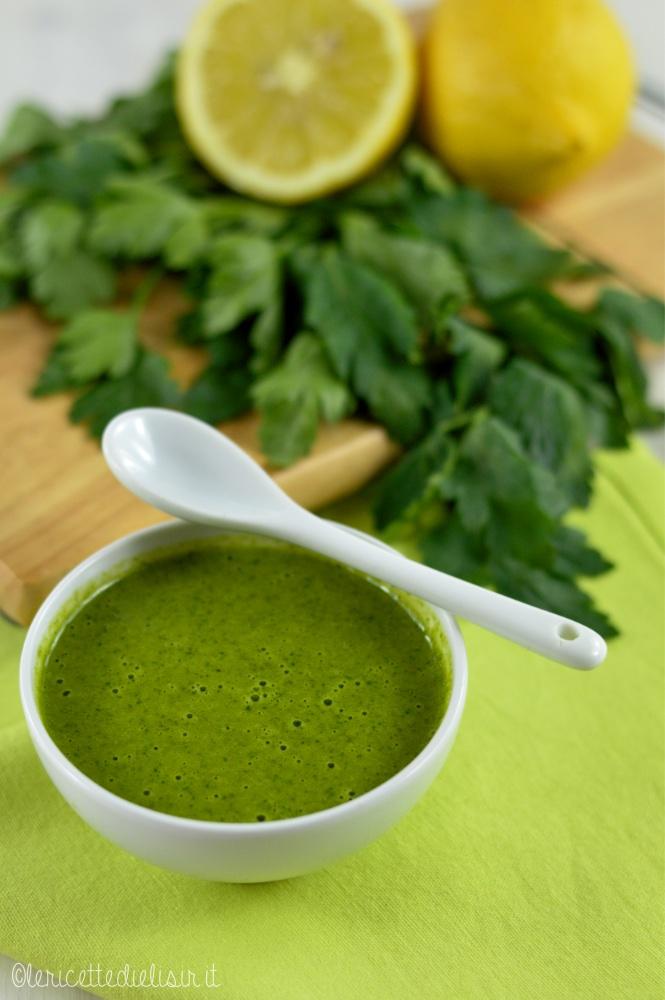 salsa verde - Salsa verde per pesce o carne