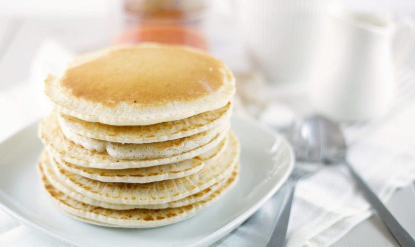 Pancakes alla farina di riso soffici