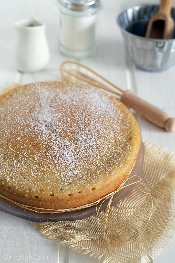 torta allacqua san martino - Torta leggera e soffice all'acqua