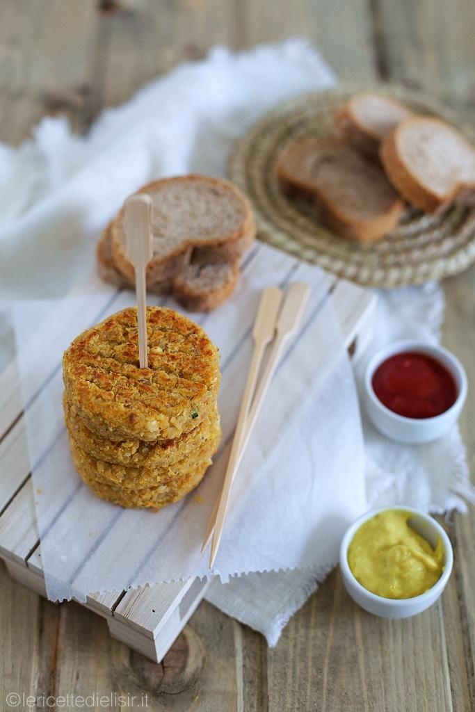 Mini burger di quinoa e lenticchie rosse le ricette di elisir