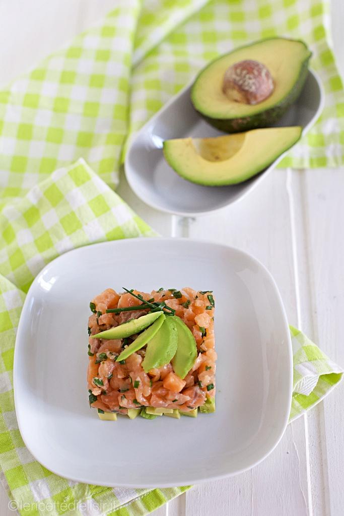 Tartare di salmone e avocado le ricette di elisir