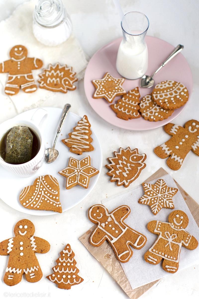 biscotti pan di zenzero 1 - Biscotti pan di zenzero gingerbread