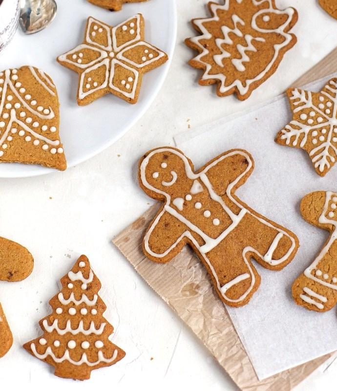 Biscotti pan di zenzero gingerbread