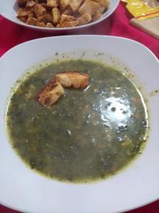 minestra di borragine cicoria e bietola