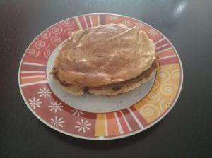 pancake alla banana senza uova