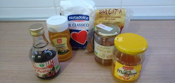 come sostituire lo zucchero nelle ricette