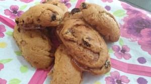 biscottoni vegan con ciliegie
