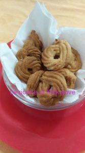 biscotti allo sciroppo d'agave e mela