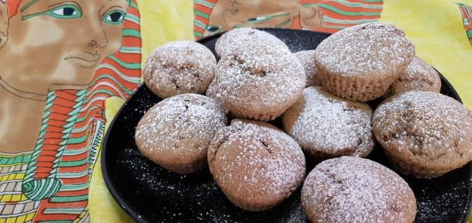 muffin al caffè vegan senza nichel