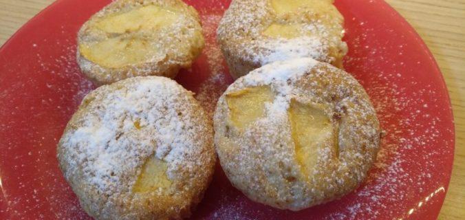 muffin alla mela vegan senza nichel