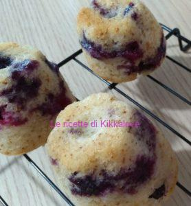 MUFFIN AI MIRTILLI VEGAN SENZA GLUTINE