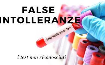 FALSE INTOLLERANZE