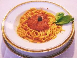 linguine-con-crema-alla-puttanesca-300x225 Linguine con crema di sugo alla puttanesca
