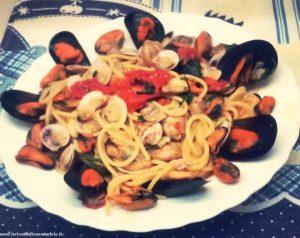 spaghetti-con-vongole-e-cozze-e1489259093245 spaghetti con vongole e cozze