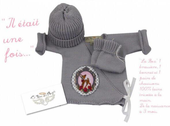 Brassiere en laine bebe