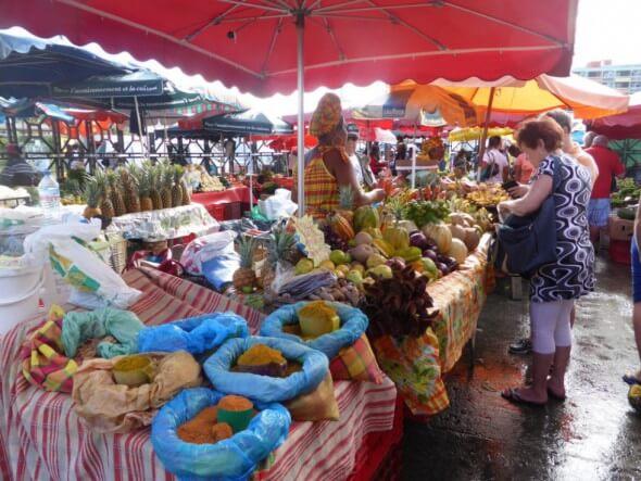 Pointe à Pitre et ses marchés