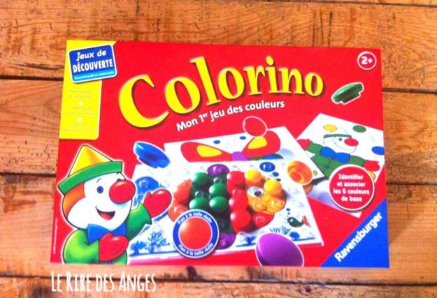 Apprentissage des couleurs avec Colorino