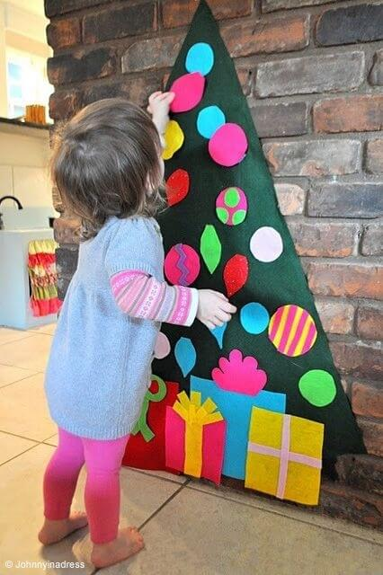 Un sapin de Noël sans sapin