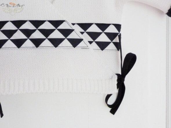 Brassiere bebe Noir Blanc