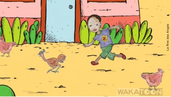 coloriage anime pour enfant