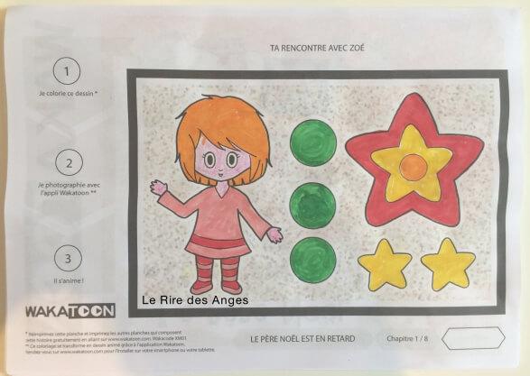 Coloriage anime
