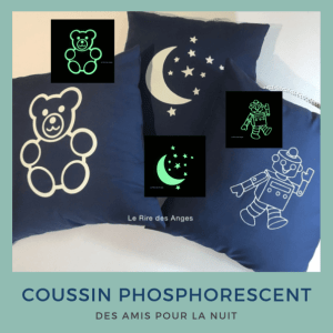 Coussin phosphoresecent