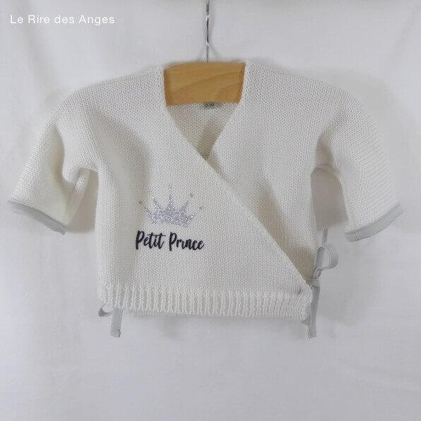 brassiere en laine petit prince