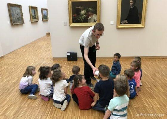 les 5 sens au musée