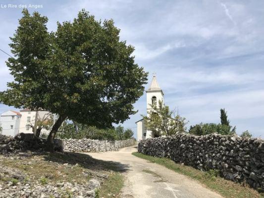 Lubenice sur l'ile de Cres