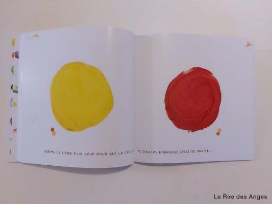 mélange des couleurs peinture