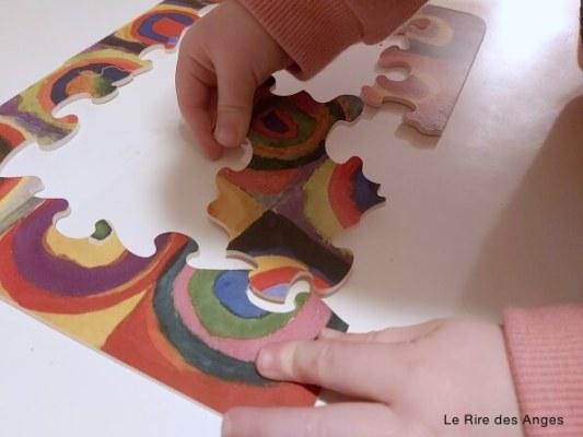 puzzle kandinsky pour enfant