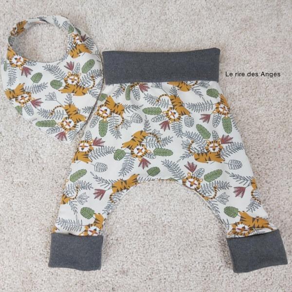 pantalon evolutif tigre