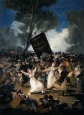 "Goya, ""O Enterro da Sardinha"""